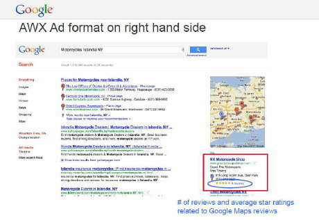 AWX Ad on right hand side