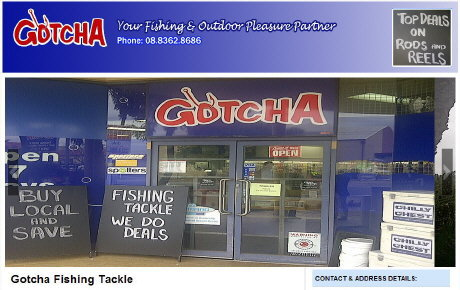 gotchafishingtackle.com.au