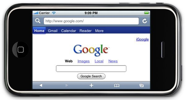 google mobile search